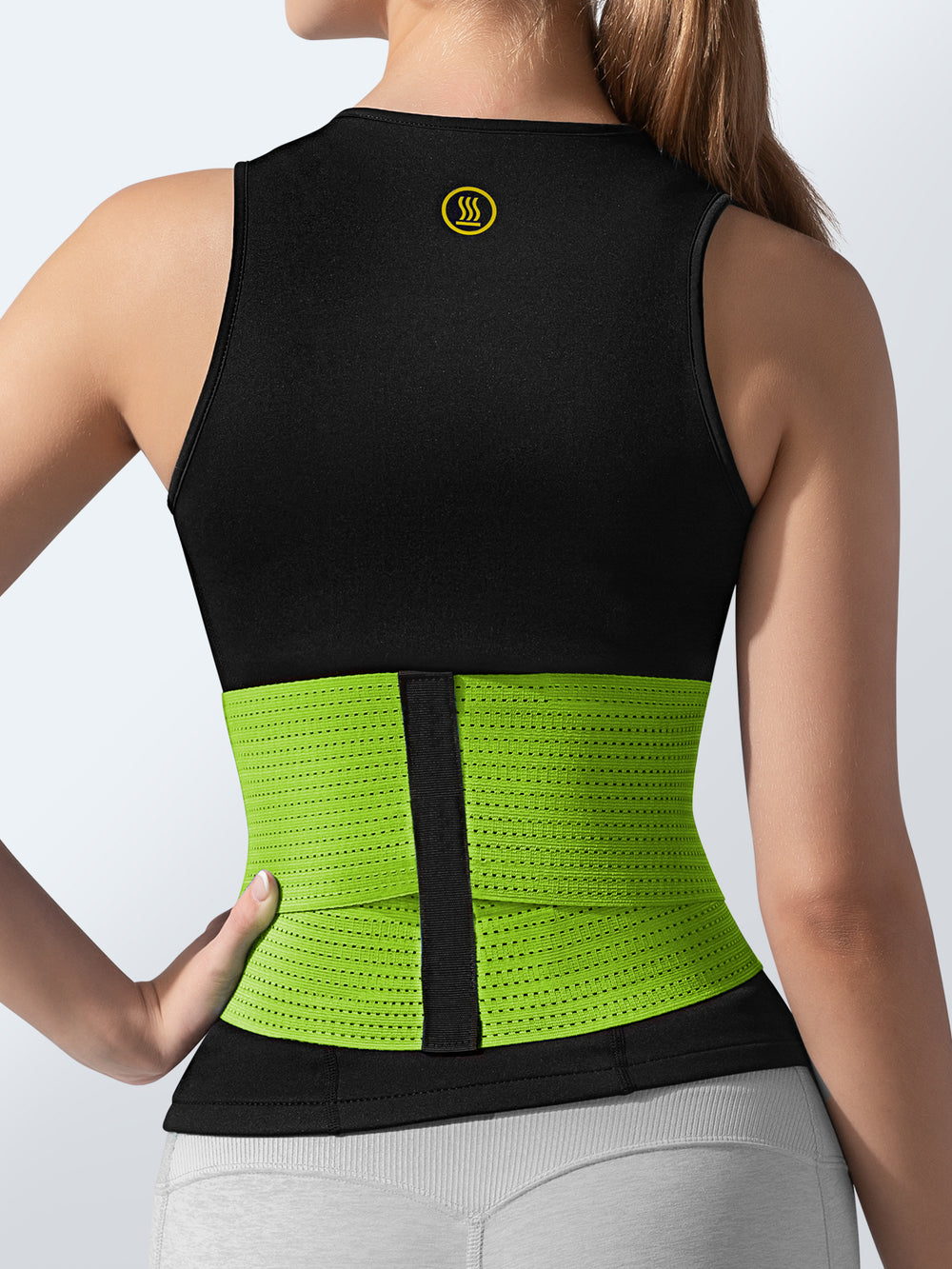 Hot Shapers - Cami Hot + Green Waist Trainer