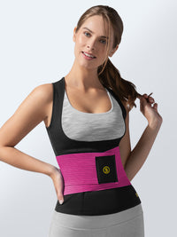 Cami hot + pink waist trainer