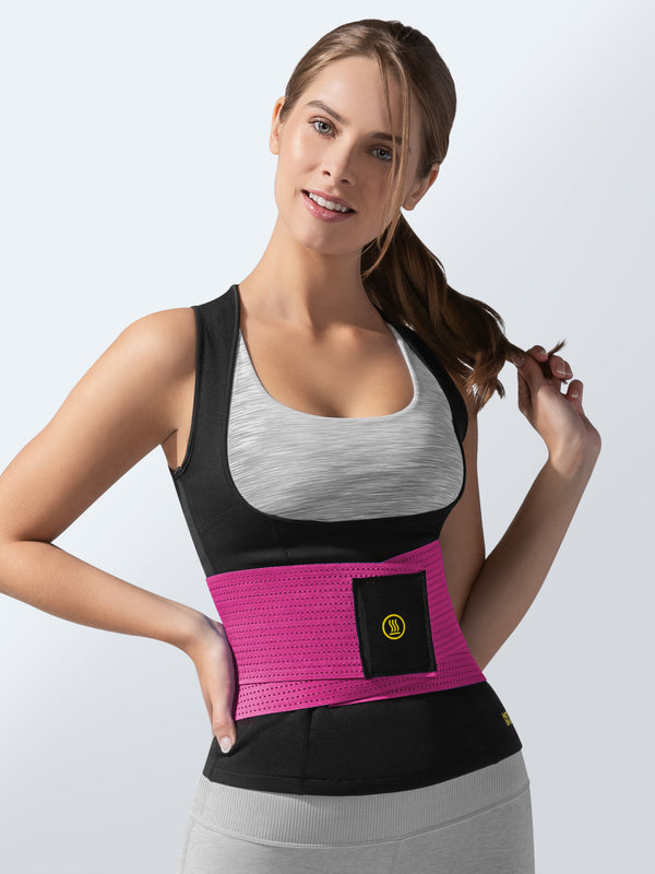 Cami Hot + Pink Waist Trainer | Hot Shapers