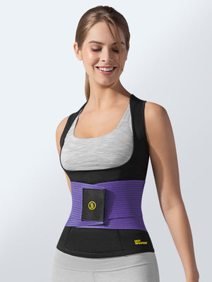 Cami Hot + Purple Waist Trainer