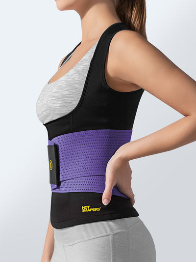 Cami Hot + Purple Waist Trainer | Hot Shapers