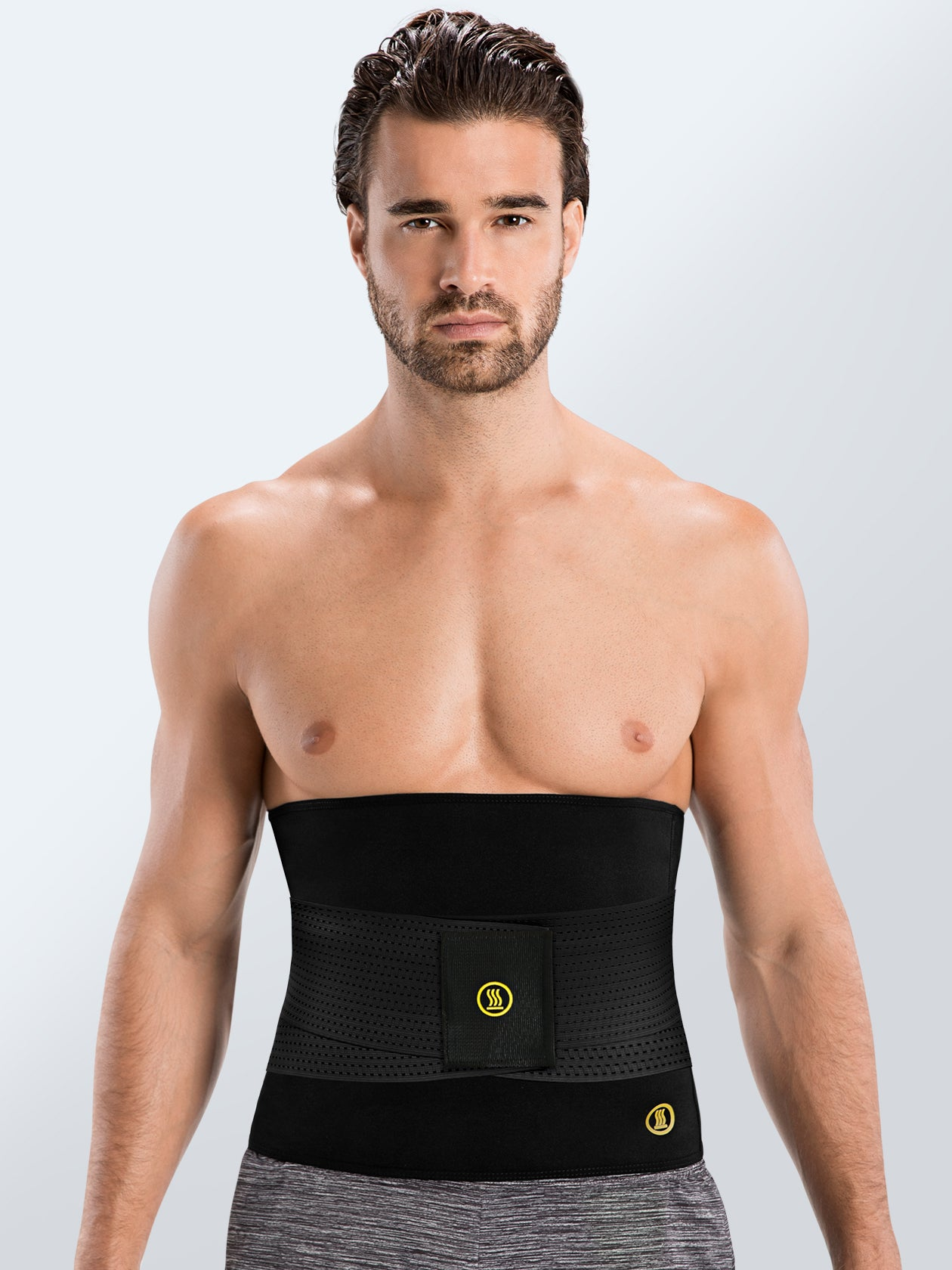 Hot Shapers - Hot Belt Men + Black Waist trainer