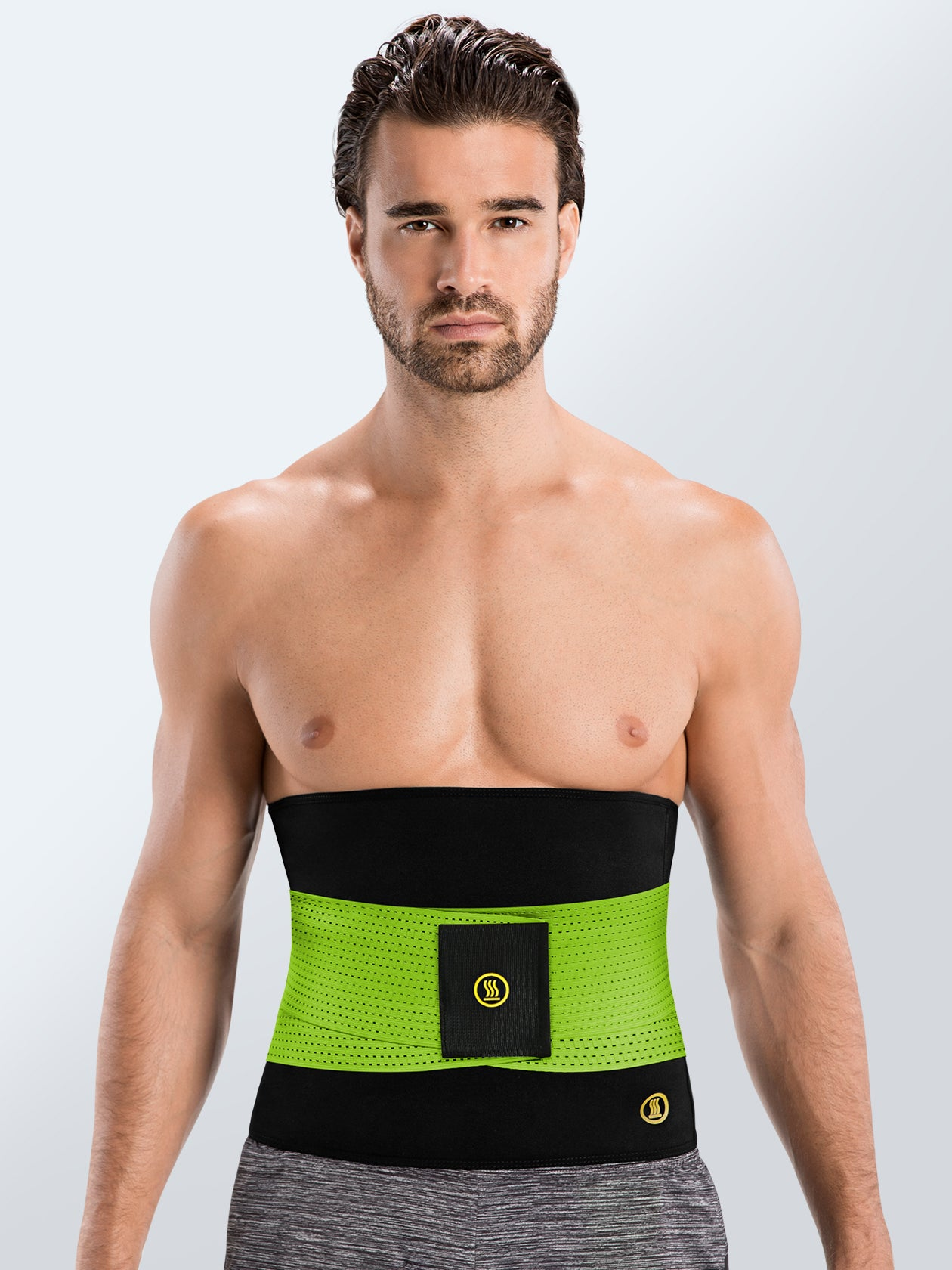 Hot Shapers - Hot Belt Men + Green Waist trainer