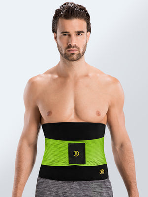 Hot Shapers | Hot Belt Men + Green Waist trainer