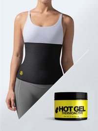 Hot belt + hot gel (4 oz)