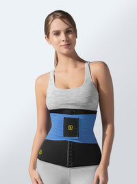 Hot belt waist cincher + blue waist trainer