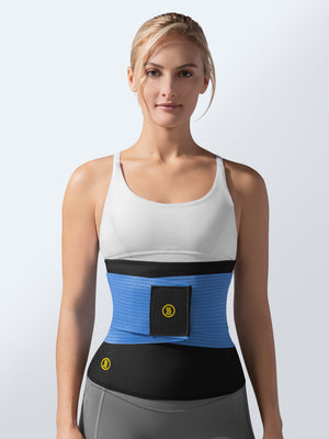 Hot Belt + Blue Waist Trainer