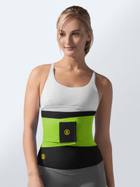 Hot belt + green waist trainer