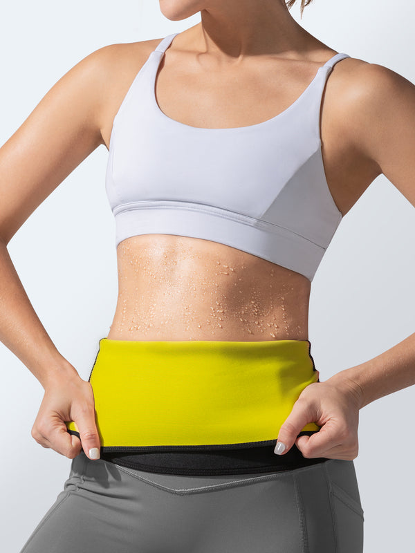Hot Belt + Green Waist Trainer | Hot Shapers