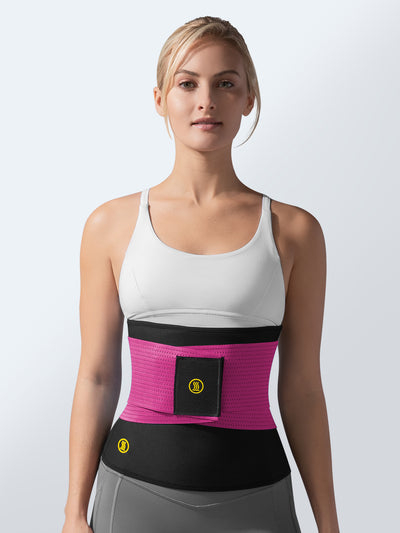 Hot Belt + Pink Waist Trainer