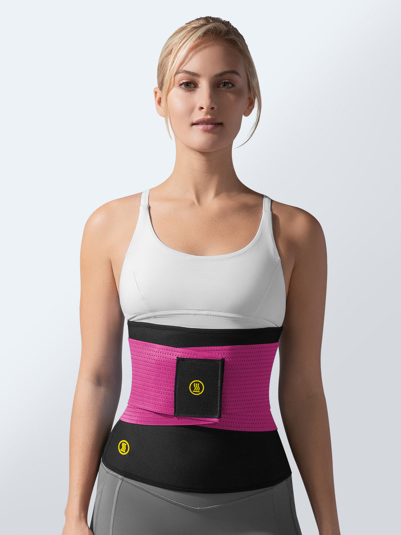 Hot Shapers - Hot Belt + Pink Waist Trainer