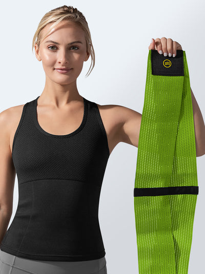 Waist Trainer Green | Hot Shapers