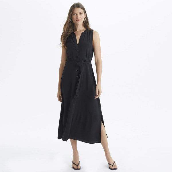Button Tie Dress - THERESET