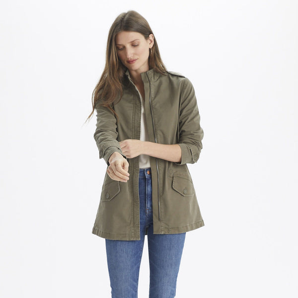 Zip Utility Jacket - THERESET