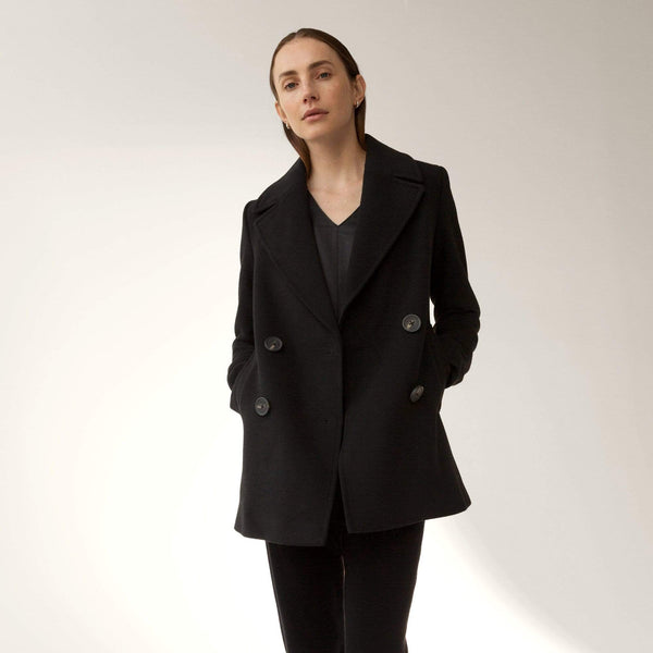 Modern Peacoat - THERESET