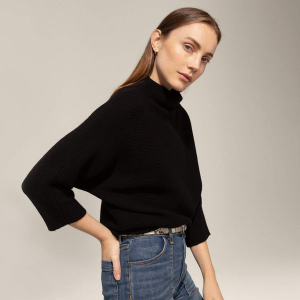 Funnel Neck Pullover - THERESET