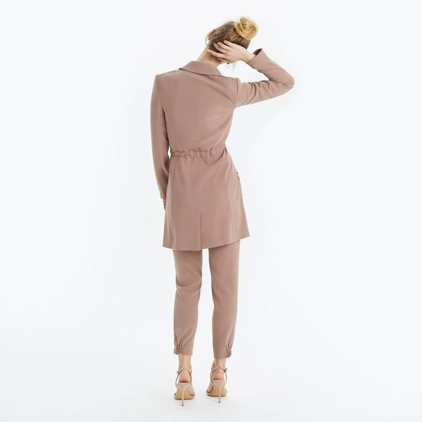 The Reset Jackets Modern Midi Trench