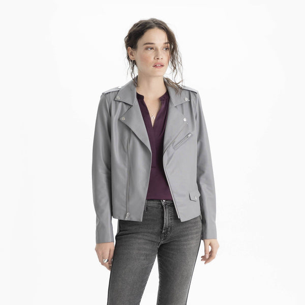 The Reset Jackets Vegan Leather Moto