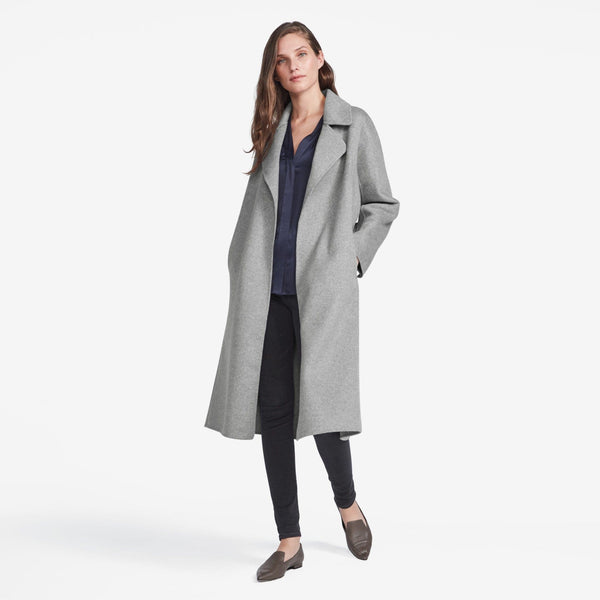 The Reset sale Double Faced Tie Coat