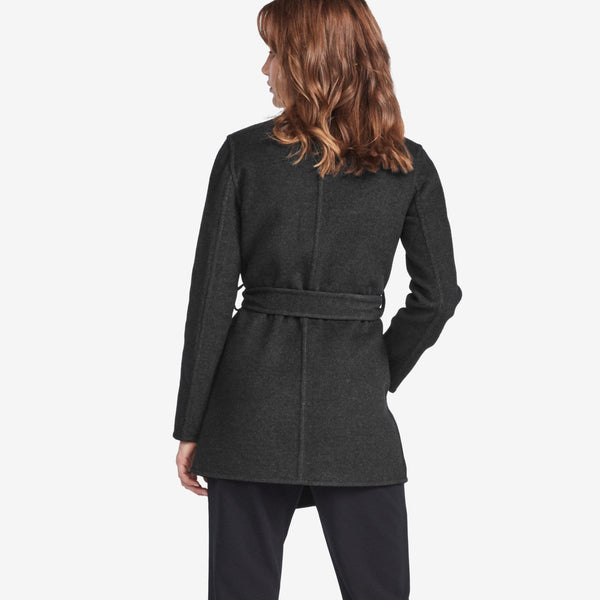 Double Faced Wrap Coat - THERESET