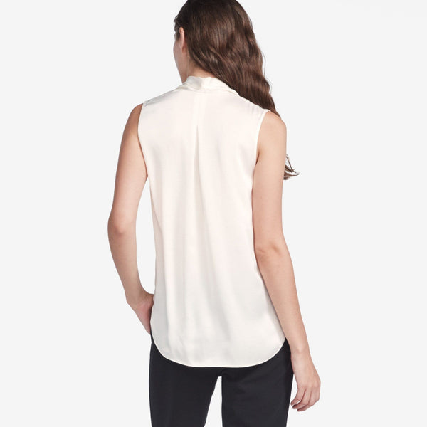 The Reset sale Satin Drape V Tank