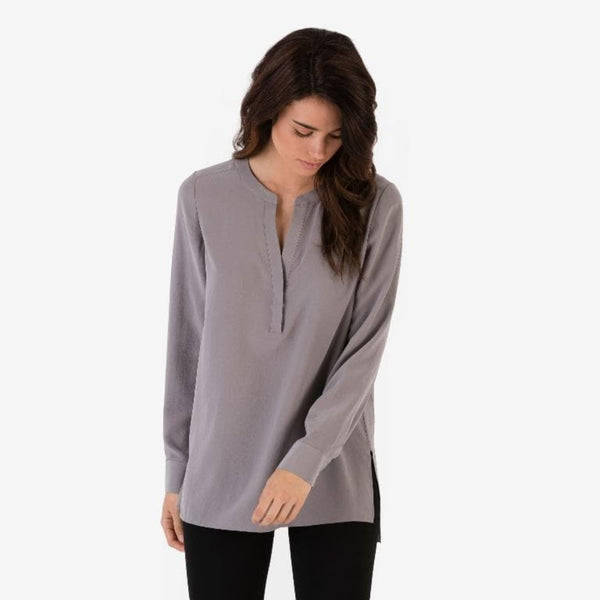 The Reset sale Light Grey / XS Silk Tunic