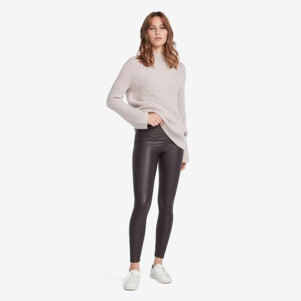 Vegan Leather Legging - THERESET