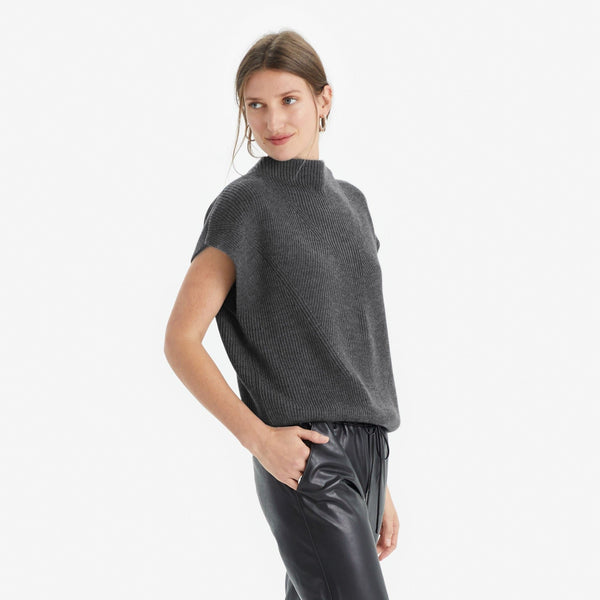 Cap Sleeve Sweater - THERESET