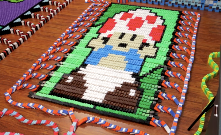 Toad en 20.000 dominos