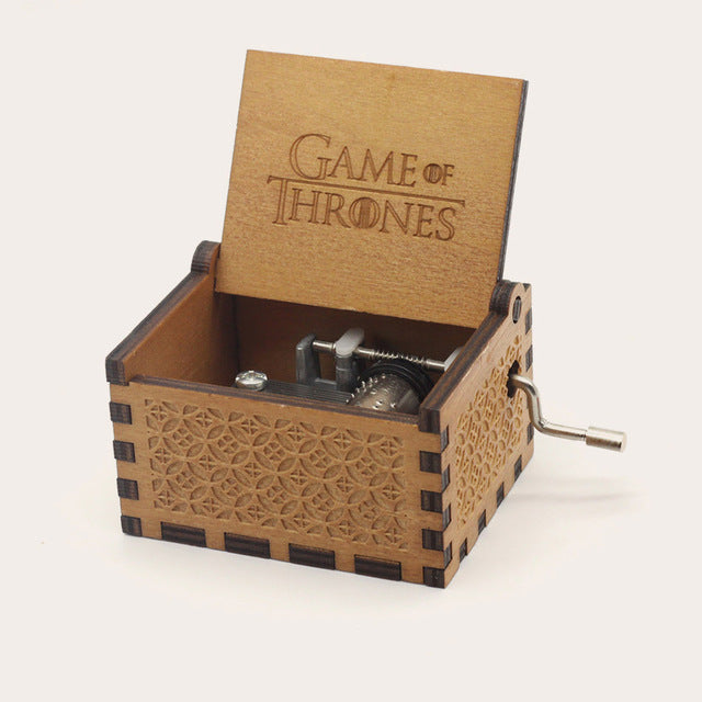 Boite musicale Game of Thrones / Harry Potter