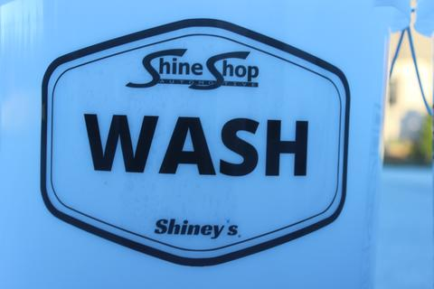 Shine Shop Bucket Stickers