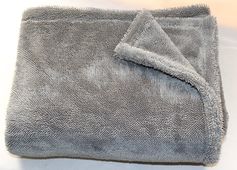 Bull Shine Twisted Monster Towel - Grey (1 pack)