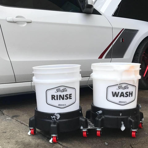 Shine Shop Automotive Wash and Rinse Bucket Package