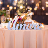 Amore or Amour Table Sign