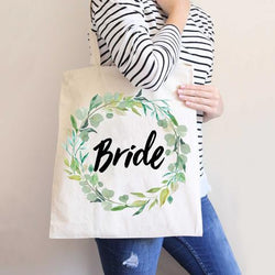 Greenery Wedding Bags