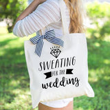 Exercise Wedding Tote Bag