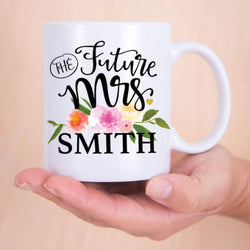 Personalized Engagement Mug
