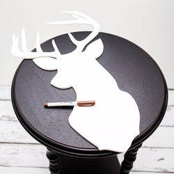 Buck Silhouette Guestbook - Wedding and Gifts