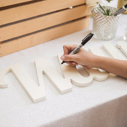 signable guestbook, wooden name, wooden signs