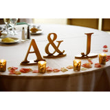 Personalized Initial Signs on Bases