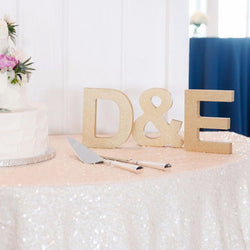 wooden letters, table signs, initial signs