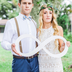 Wedding Photo Prop Infinity Sign