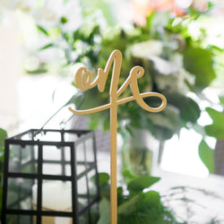 Tall Standing Table Numbers