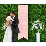 Wedding Song Backdrop