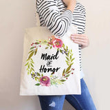 Moody Floral Wedding Bags