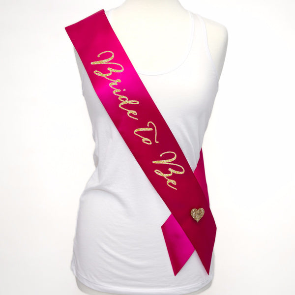 Bride Sash for Bride to Be at Bridal Shower or Wedding - Wedding and Gifts