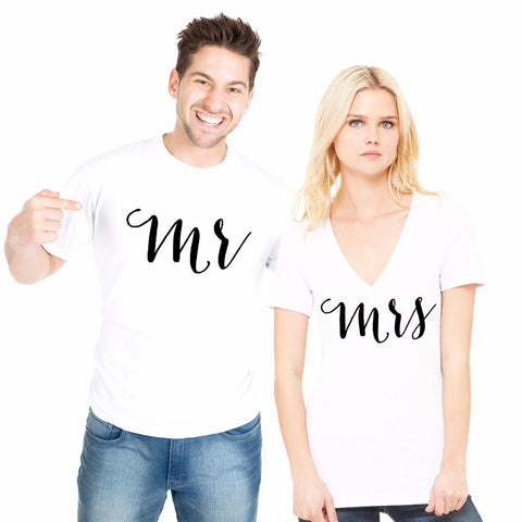 Mr & Mrs Shirts for Couples