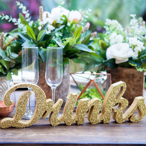 """Drinks"" Table, Bar Sign - Wedding and Gifts"