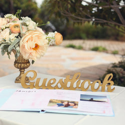 Guestbook Sign for Wedding Table - Wedding and Gifts