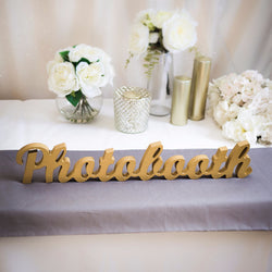 "Wedding ""Photobooth"" Sign"